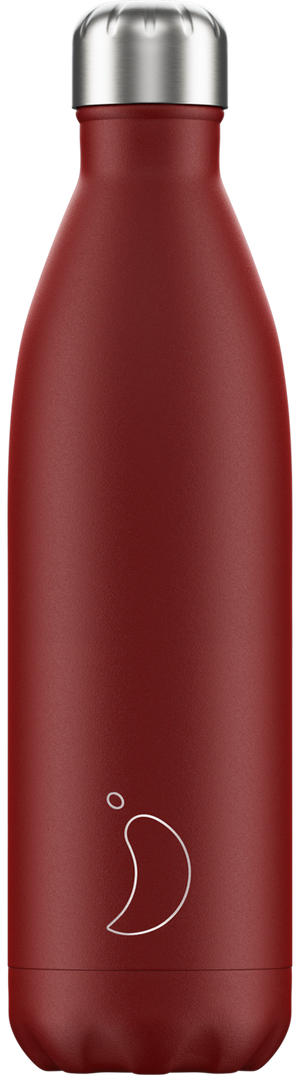 Matte red chilly bottle - 750ml