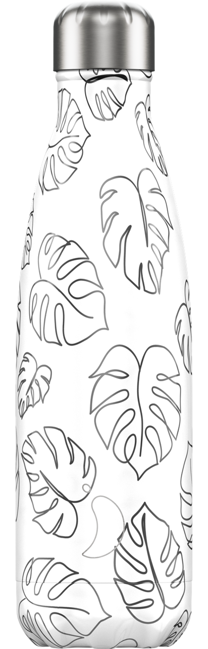 Line art leaves chilly bottle - 500ml