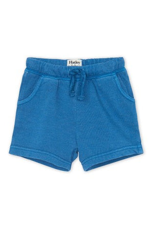 moroccan blue baby cotton shorts