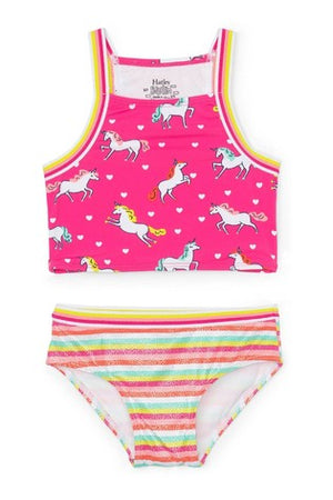 prancing unicorns tankini set