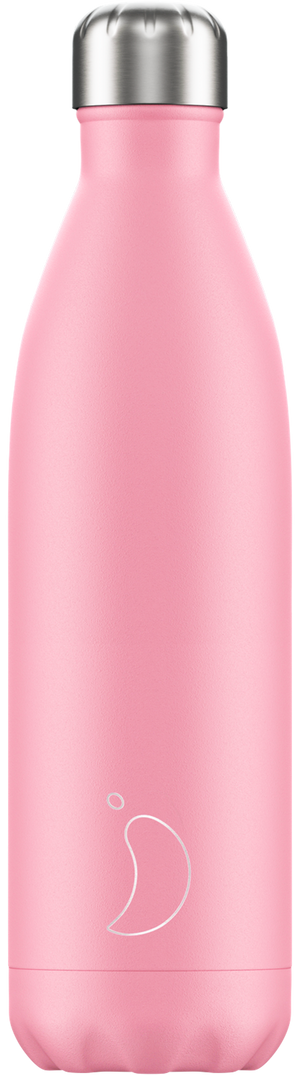 Pastel pink chilly bottle - 750ml