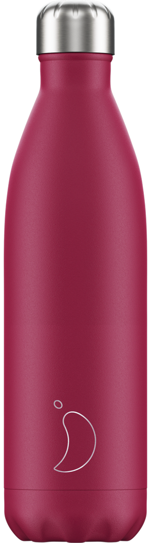 Matte pink chilly bottle - 750ml