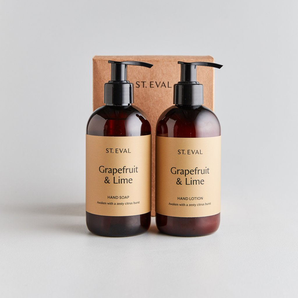 Grapefruit & lime hand wash And lotion set - ST EVAL