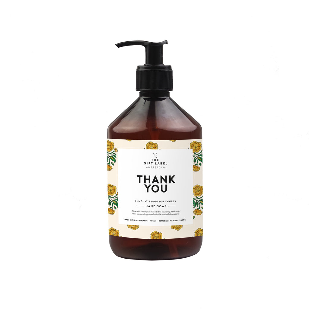 the gift label hand wash - thank you 500ml