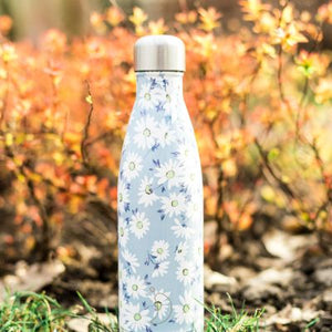 floral daisy water bottle