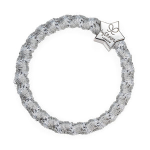 silver star shimmer hair band