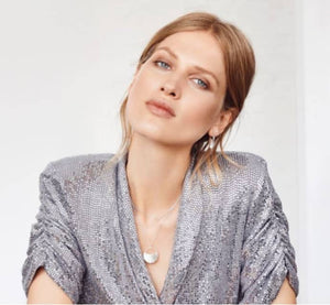 silver Brooklyn necklace - pernille corydon