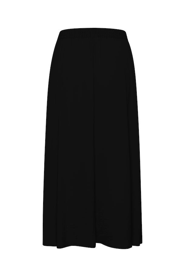 black long maxi skirt