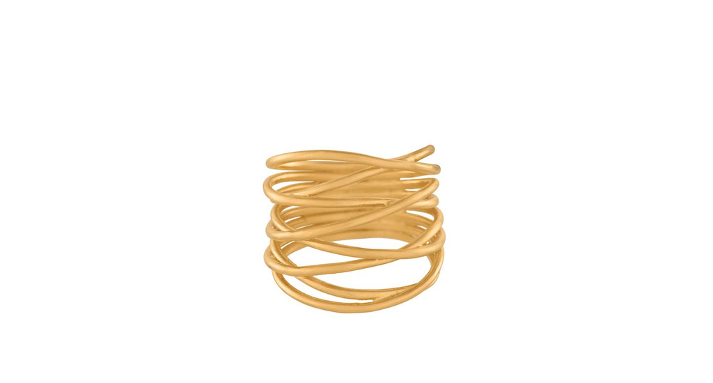 gold paris ring - pernille corydon