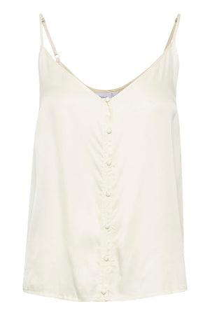 camisole with buttons - Ice