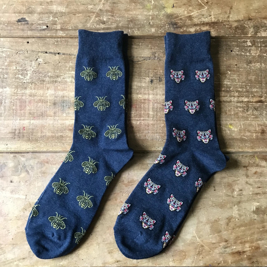 Men's Seoul socks - navy