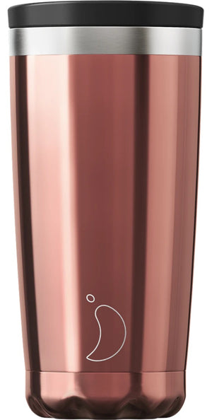 Chrome edition Rose gold Chilly coffee cup - 500ml