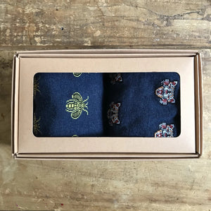 Men's 2 pack sock box - Seoul