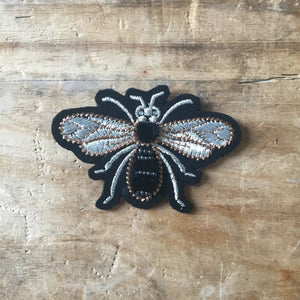 embroidered insect pin