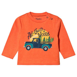 woodsy long sleeve baby tee
