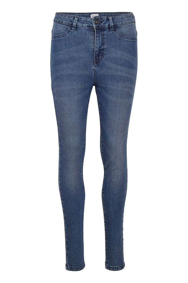 medium blue skinny jean