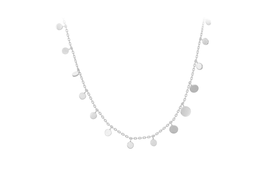 sheen necklace - silver