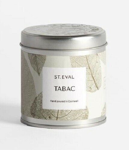 Tabac - eden scented tin candle