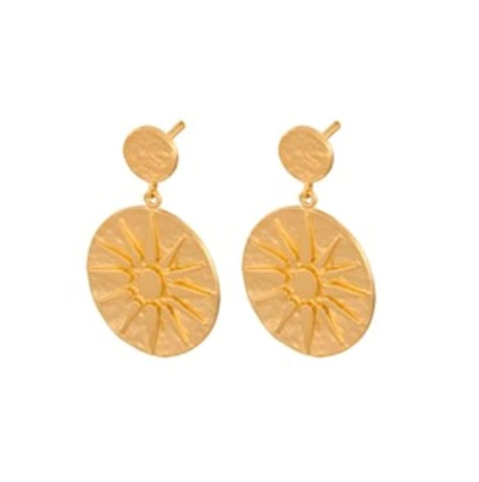 gold Bali earrings - pernille corydon