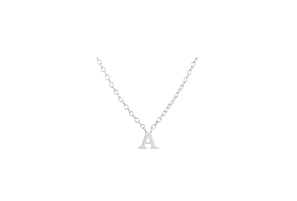 silver small note necklace - pernille corydon