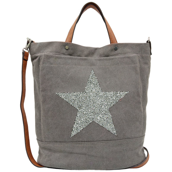 Star Power Canvas Tote Bag - 5 Colours