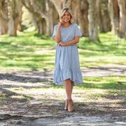 Jaison Gingham Dress