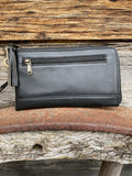 Dallas Cowhide/leather travel wallet
