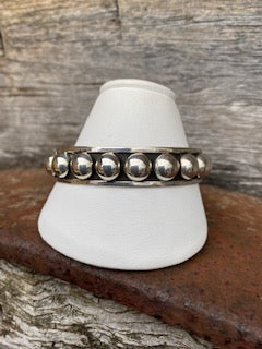Large Dot Mexican Bangle