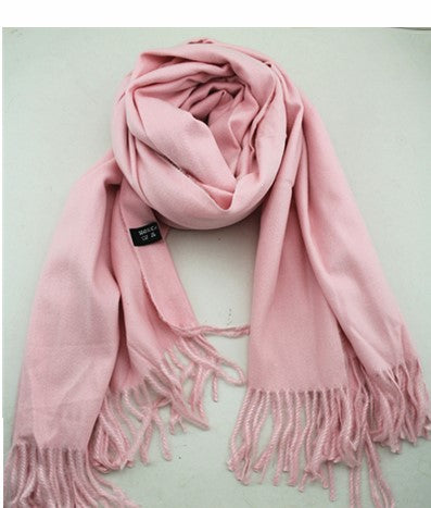 Thick cashmere scarf - 2 Colours