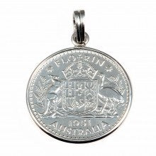 Plain Florin with Australian Coat of Arms
