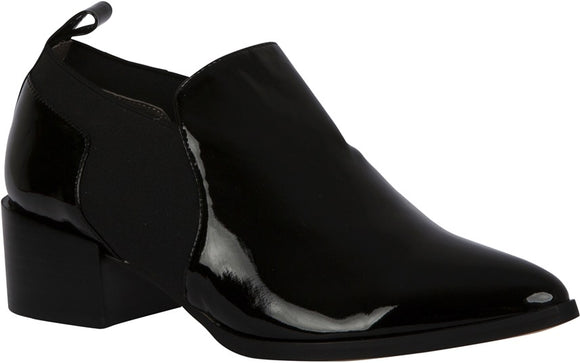 Remy Black Patent Leather boots