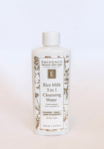 Eminence Rice Milk 3 in 1 Cleansing Water