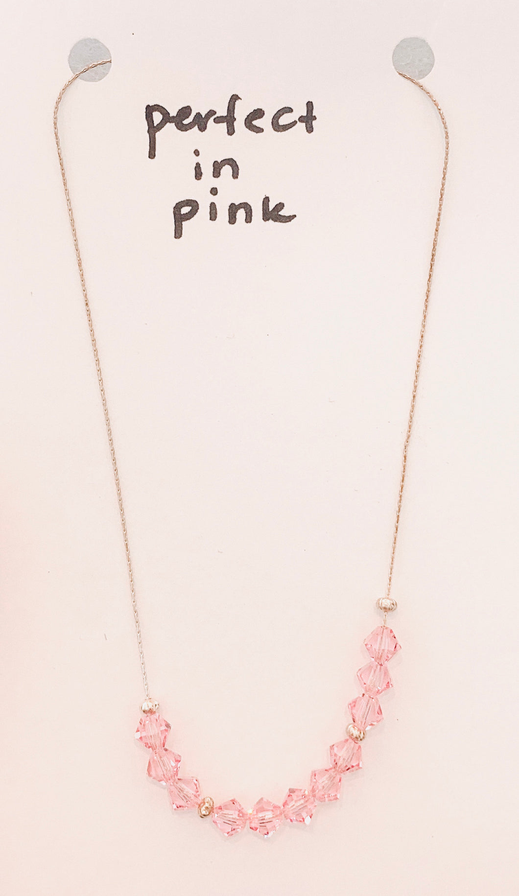 Perfect in Pink Necklace