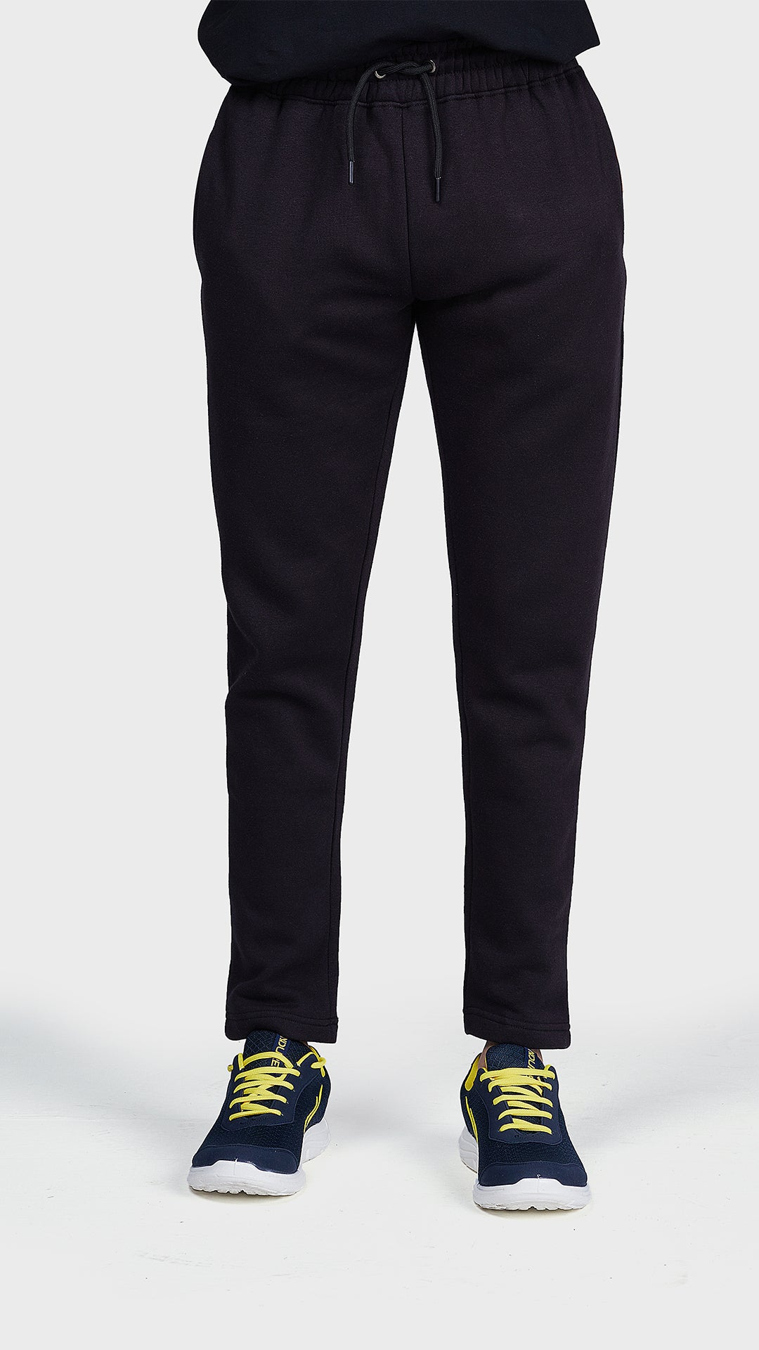 Men Fleece Straight Trouser