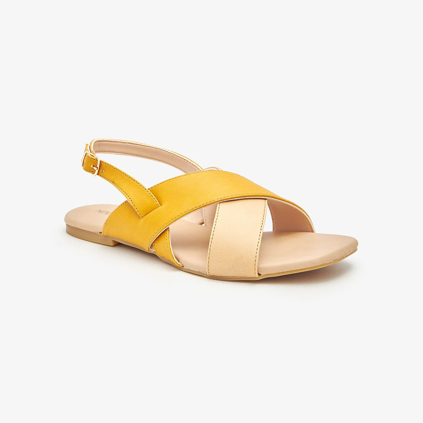 Cross-Strap Ladies Sandals