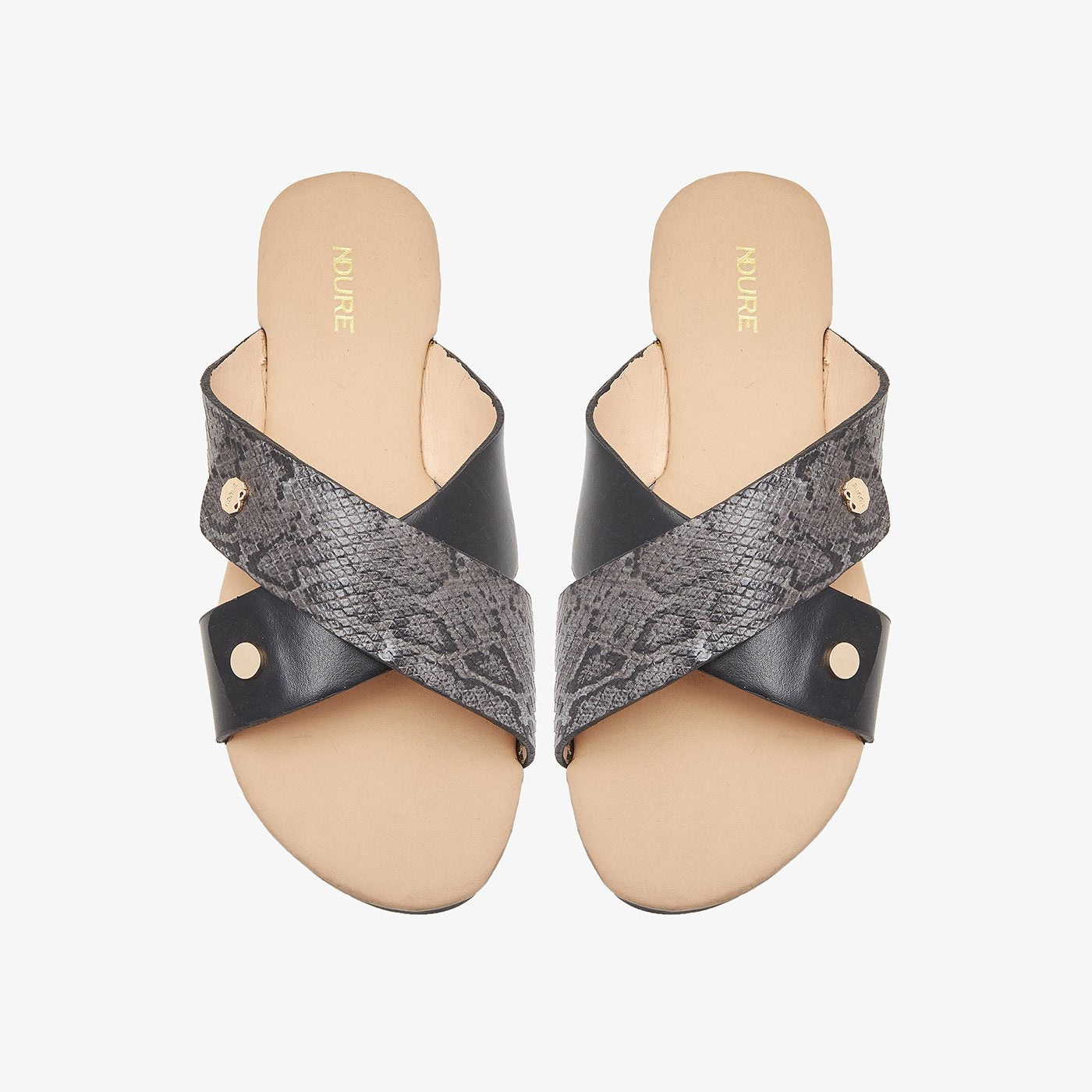 Cross Strap Chappals for Women