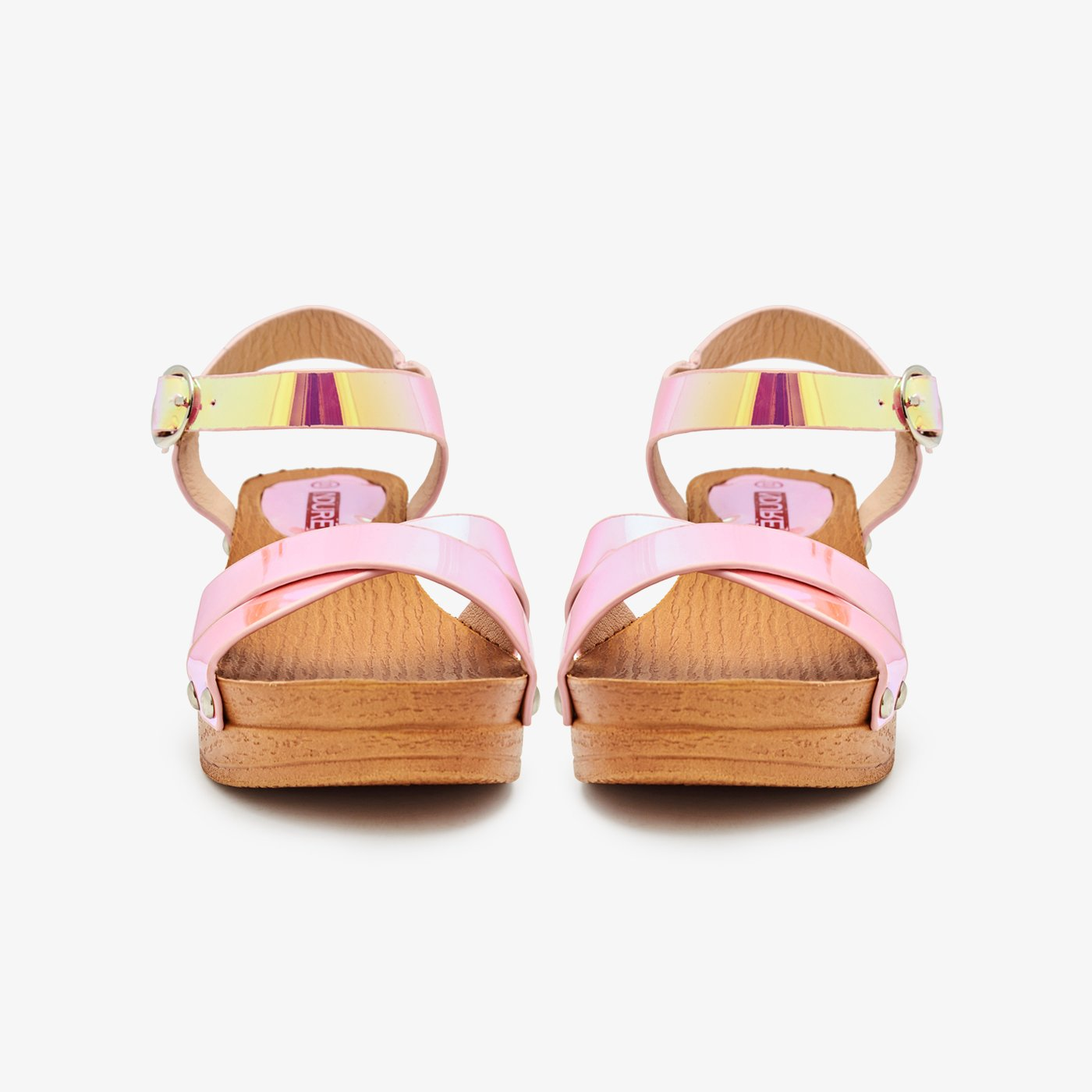 Girls Shimmery Sandals
