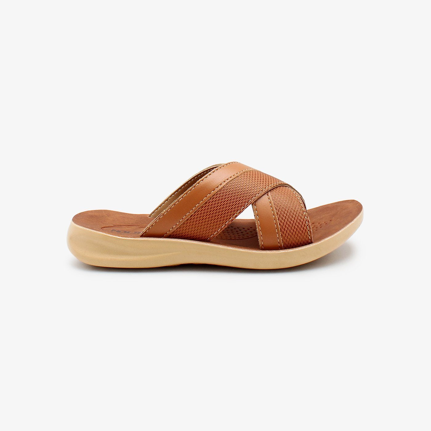 Cross Strap Boys Chappals