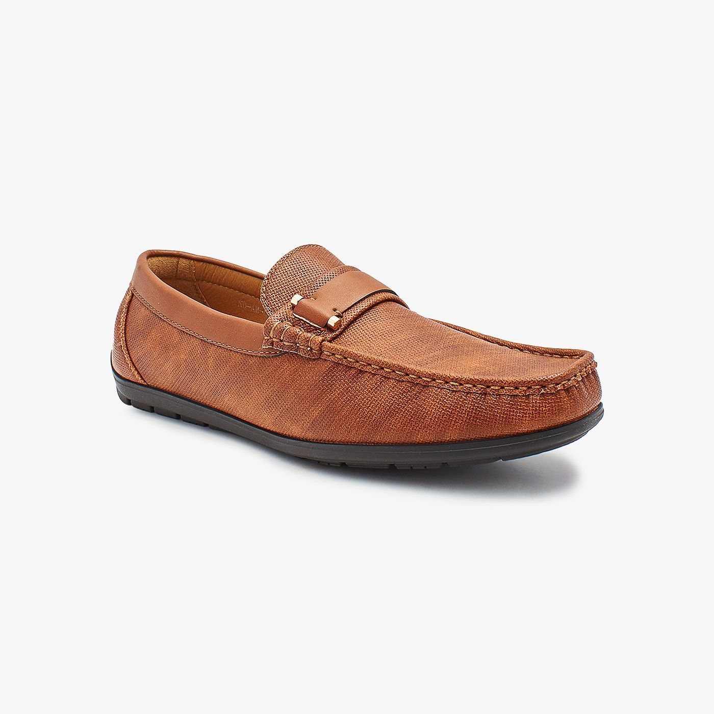 Trimmed Mens Loafers
