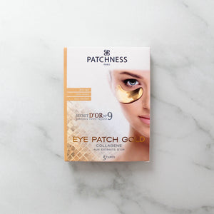 Eye Patch Gold - Patchness : Patchs et Masques beauté