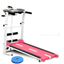 Load image into Gallery viewer, Household Quiet Fiteness Treadmill-Pink(without polling rope)