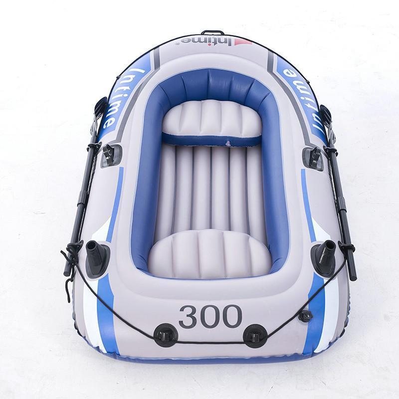 2/3/4 Person PVC Inflatable Two Person Rowing Air Boat