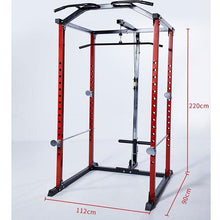 Load image into Gallery viewer, Squat Racks Gantry Frame Fitness Equipment With Dumbbell Stool