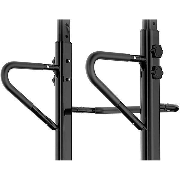 Power Tower Pull Up Bar Dig Station-441LBS Weight Capacity-Black