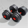Adjustable Dumbbell Splicing Barbell Set