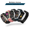 E18 SmartBand Sports Tracker Watch  For Android and iOS  With Heart Rate  Curvetrendy