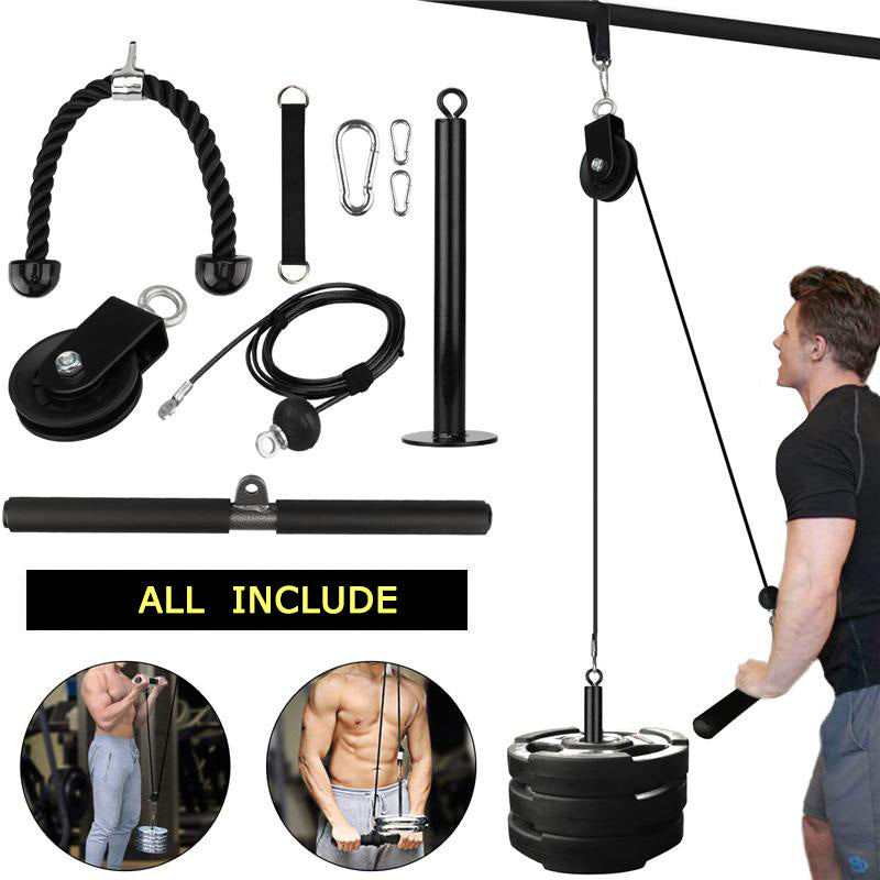 Pulley Cable Machine Muscle Strength Fitness Equipment