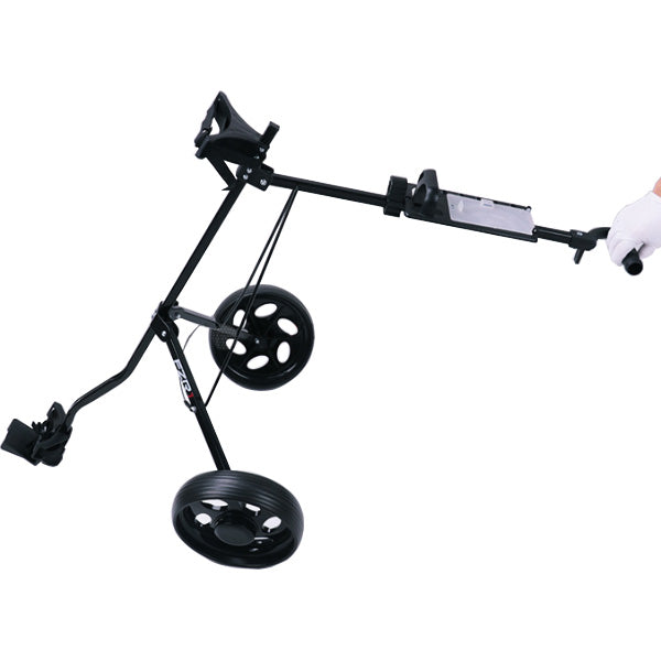 Foldable Golf Cart Trolley 2 Wheel(without bag)