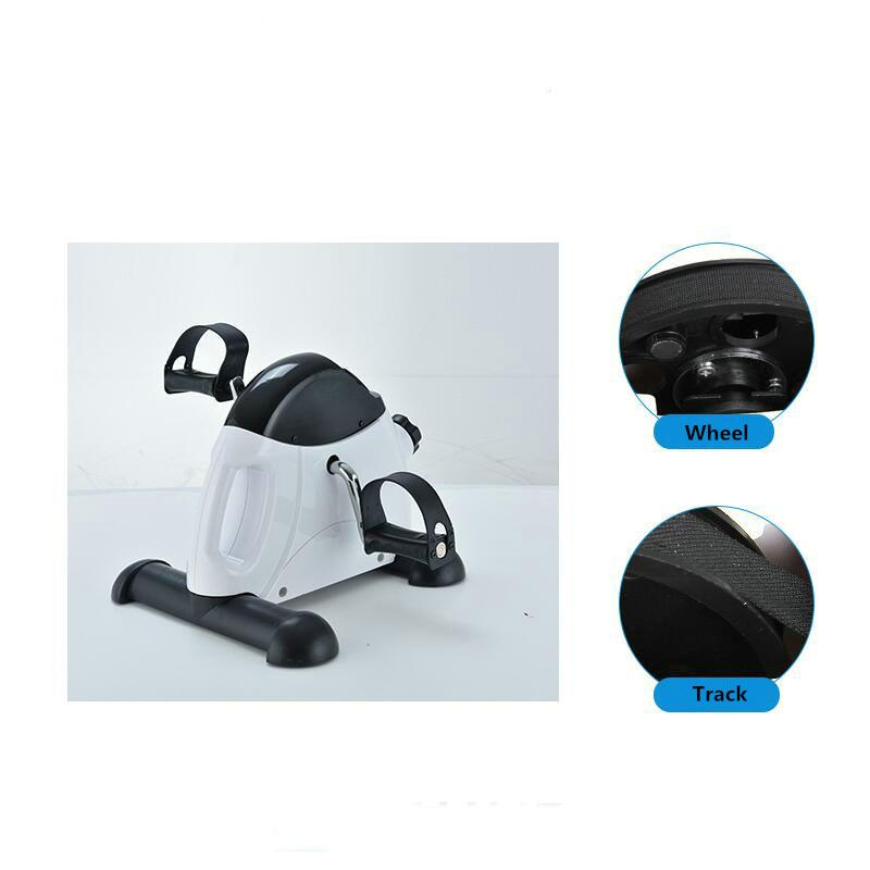 Mini Exercise Bike Compact Pedal Exerciser |  With LCD Monitor | Massfits