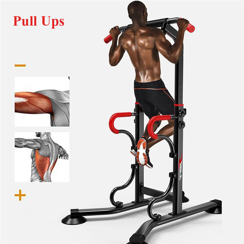 Power Tower Pull Push Chin Up Bar